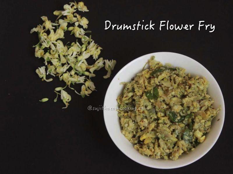 Drumstick Flower Fry Sujithaeasycooking Fries Drumsticks Indian Cooking