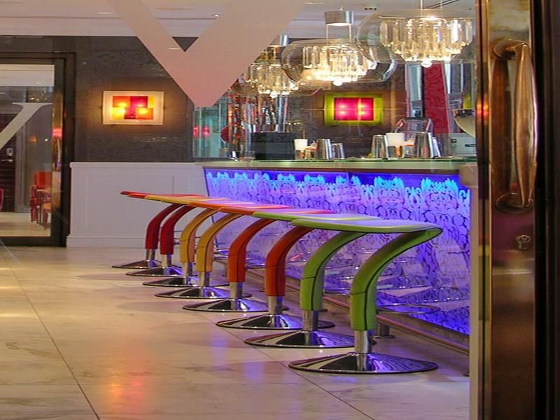 Cool Colorful Home Bars Interior Design - GiesenDesign | COOL BARS ...