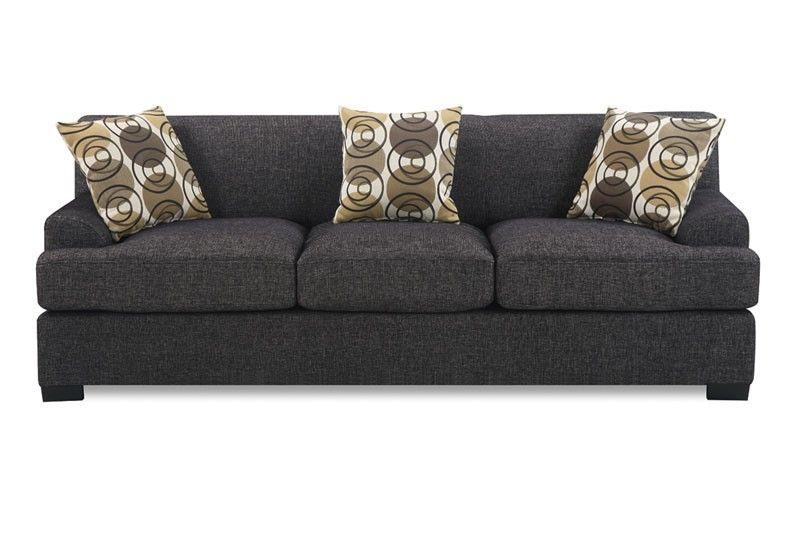 Montreal Sectional Sofa In Slate Design Couch Big Fabiola Ecksofa Poundex Furniture F7450 Pinterest