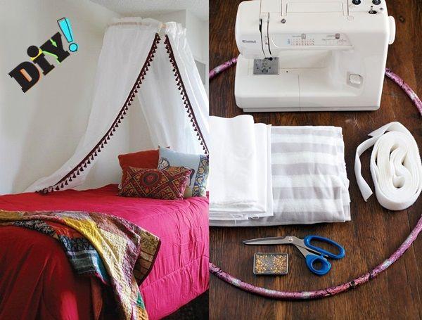 Kendin Yap Cibinlikli Yatak Tasarımları | BinbirDekor.Com