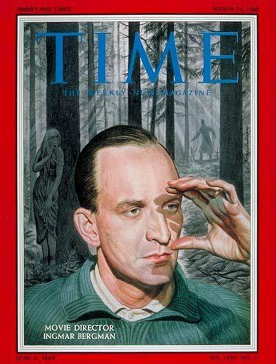 Ingmar Bergman on Time magazine cover