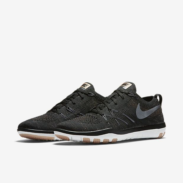 Nike Free Tr 5 Dessins Flyknit Noir Et Blanc