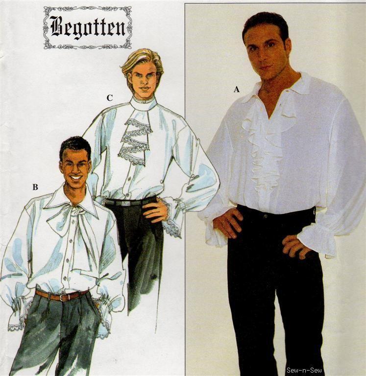 Image result for poet shirt pattern | Men ballet costumes ...