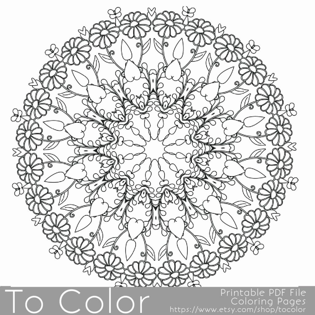 Christmas Coloring Pages for Adults – coloring.rocks! | 1024x1024