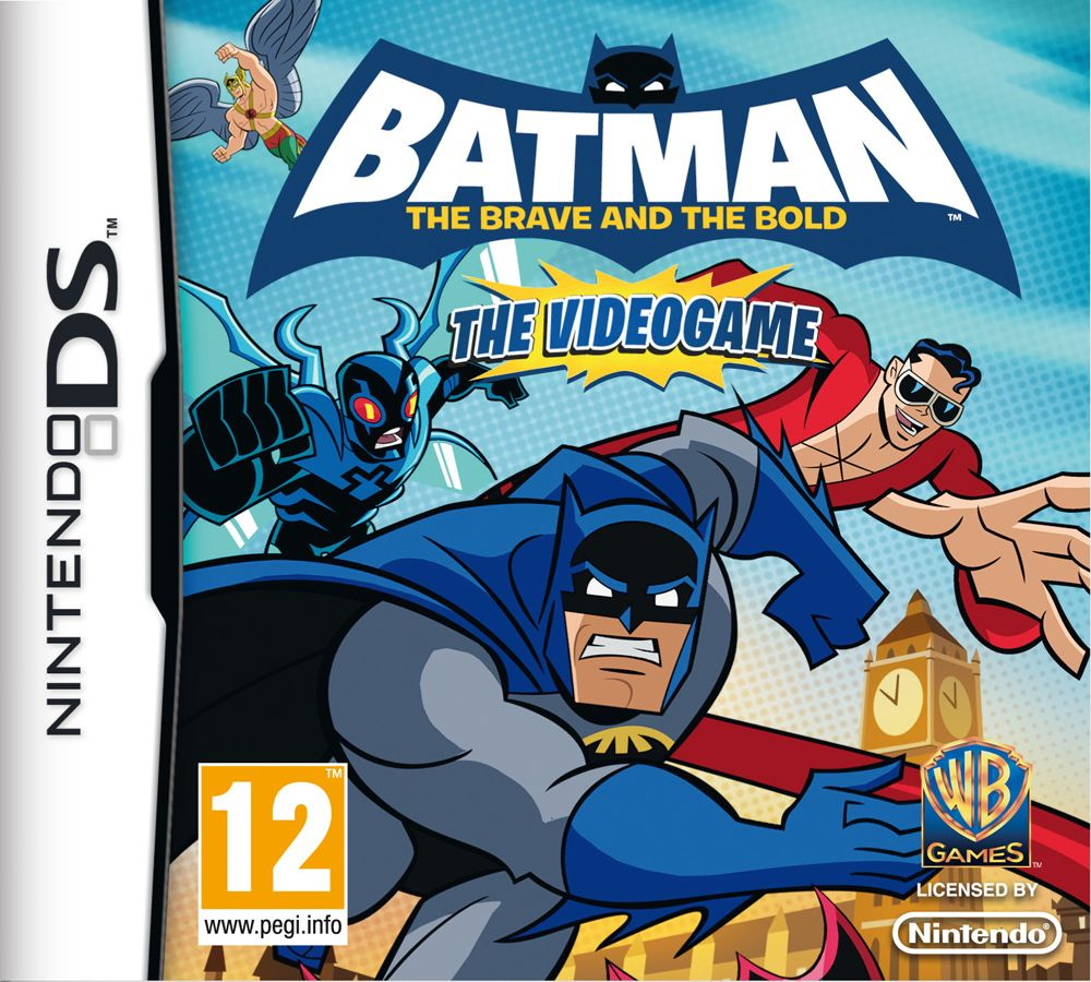 Batman The Brave And The Bold Nintendo Ds Brave Nintendo