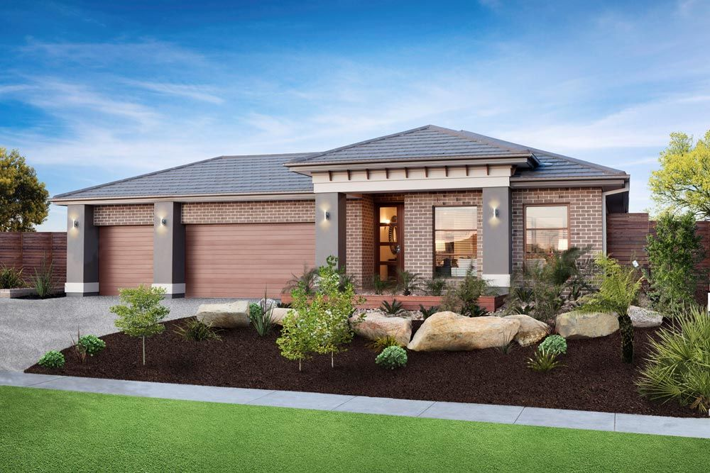 Simonds home designs flinders st ives facade visit www for Home facade ideas