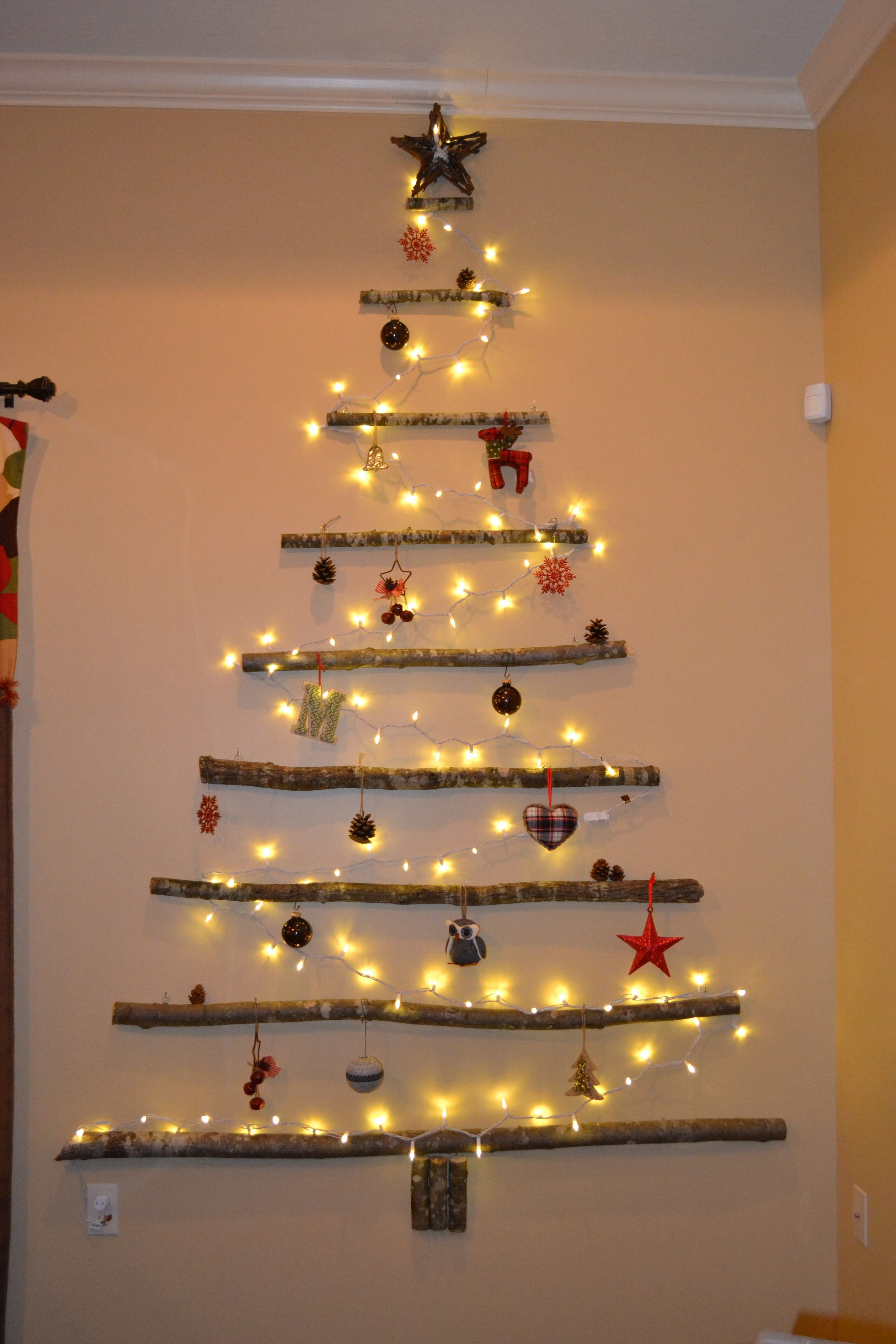 wall tree christmas