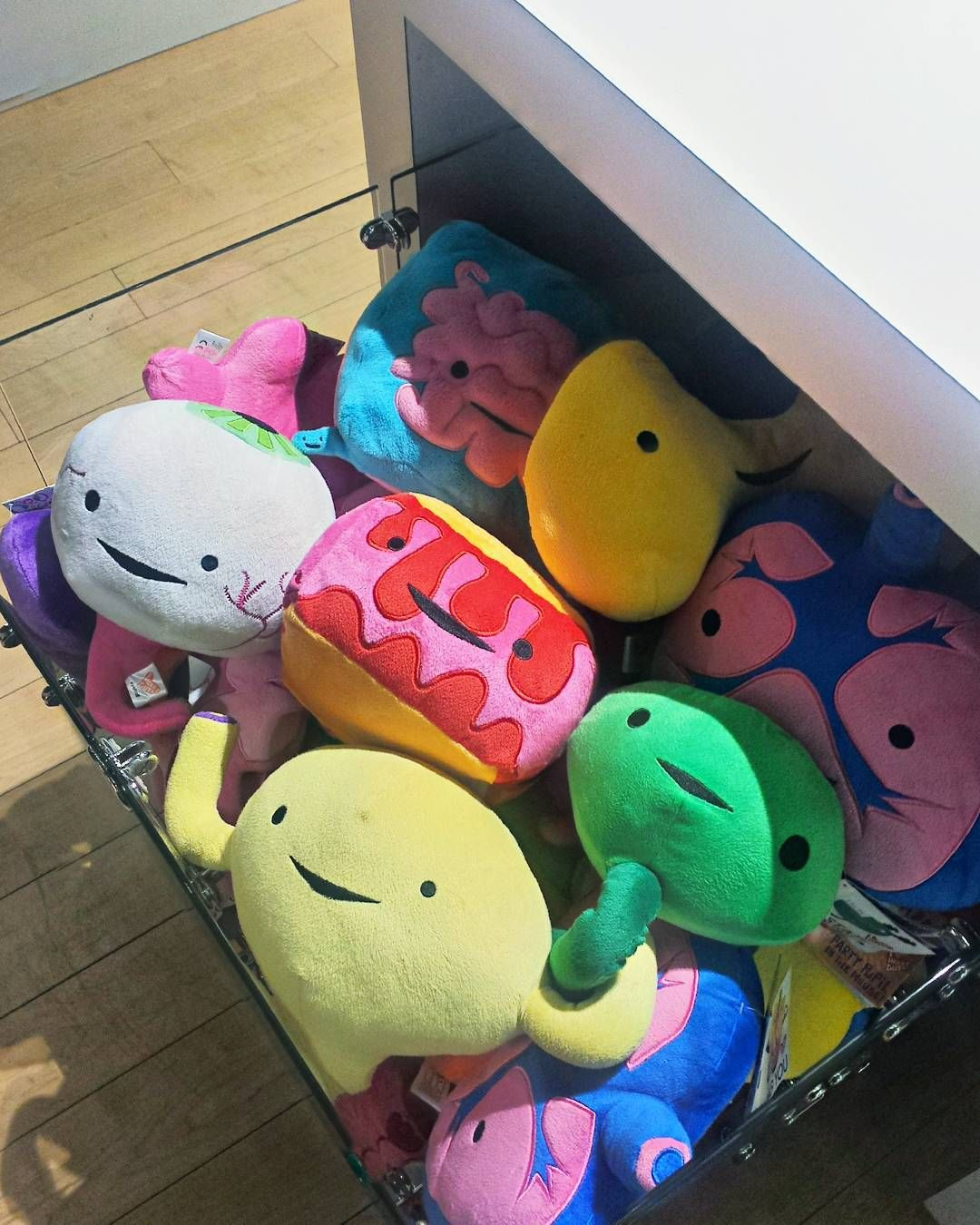 We Have A Whole Section For These Happy I Heart Guts Plushes Keychains Museum Store Plush I Am Happy