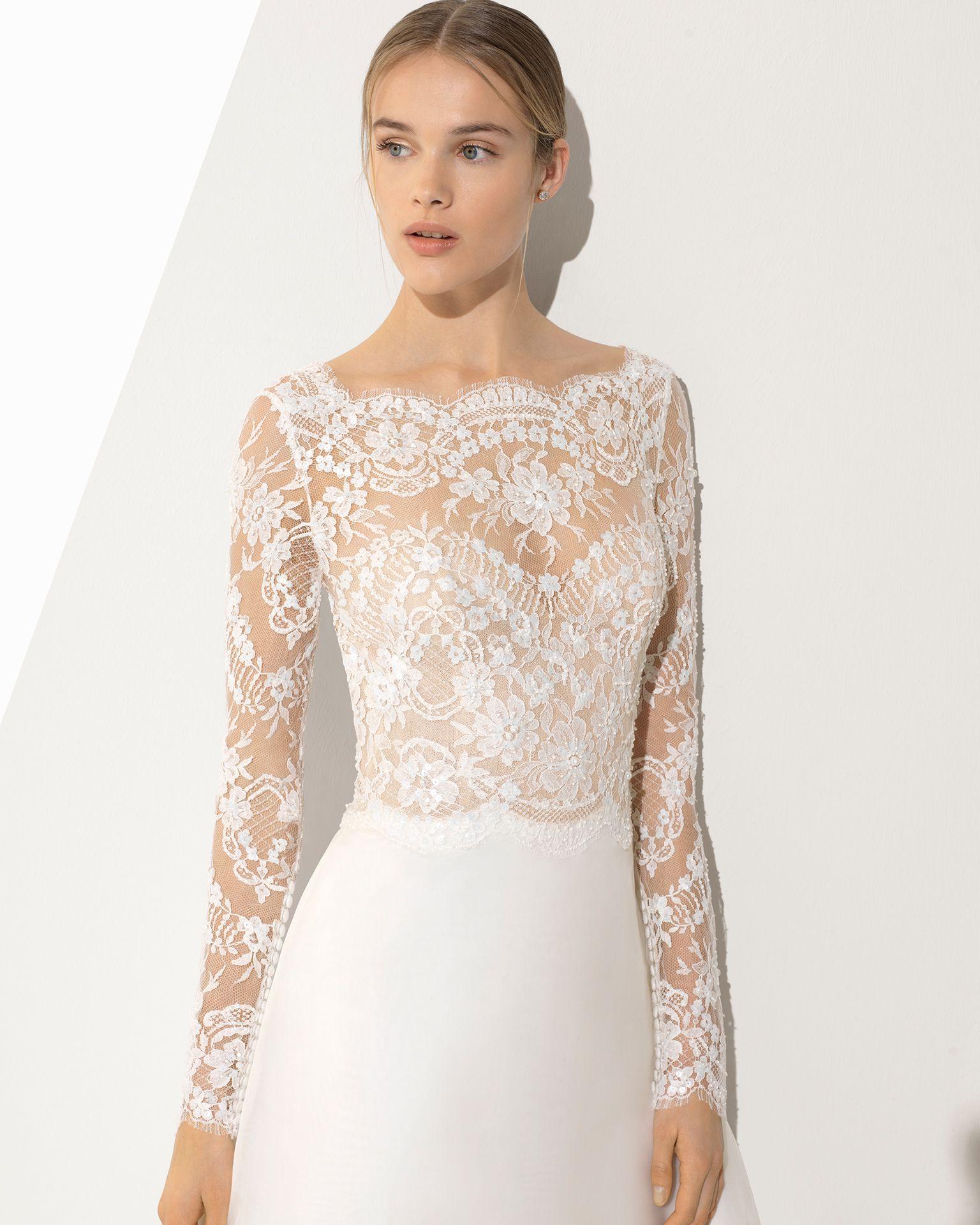 42547a591479 PATRICIA - sposa 2018. Collezione Rosa Clará Couture nel 2019 ...