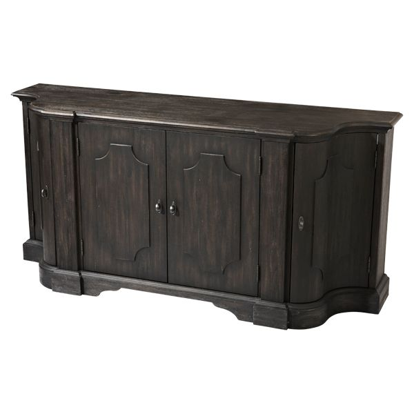 Buffet In Acacia Solids And Veneers Rubbed Chalkboard Finish The Art Shoppe Features Finest Furniture Home Furnishings From Around World