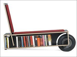 Portable Mobile Bookshelf By Nils Holger Moormann