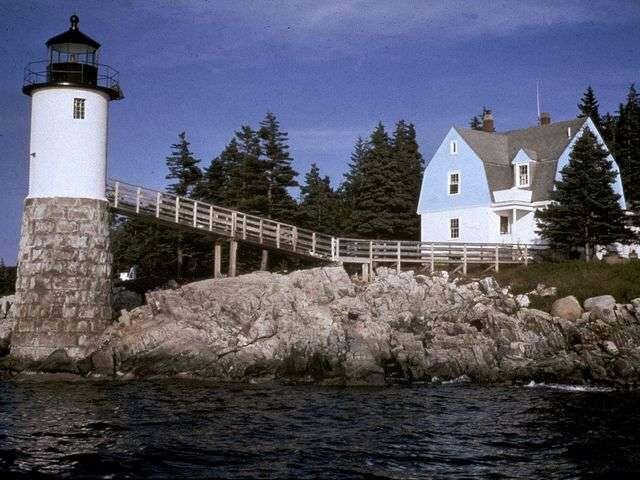 Don't miss a stay at The Keeper's House Inn, a working lighthouse listed on the National Register of Historic Places on Isle Au Haut, Maine.