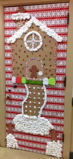 Gingerbread Door Holiday Doors Christmas Door