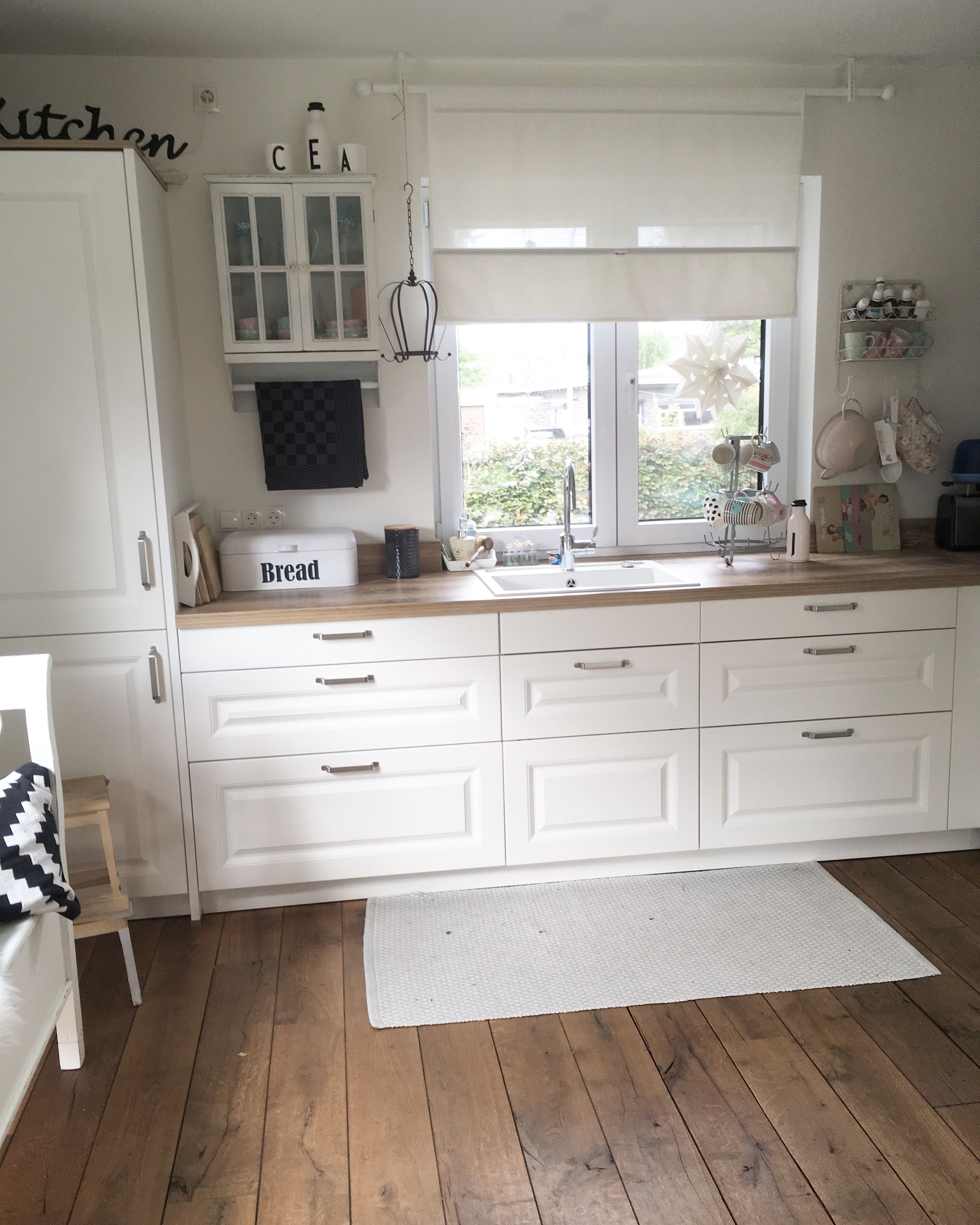 Shabby and charme modern country style decor kitchen also home decorating ideas white wooden accessories rh pinterest