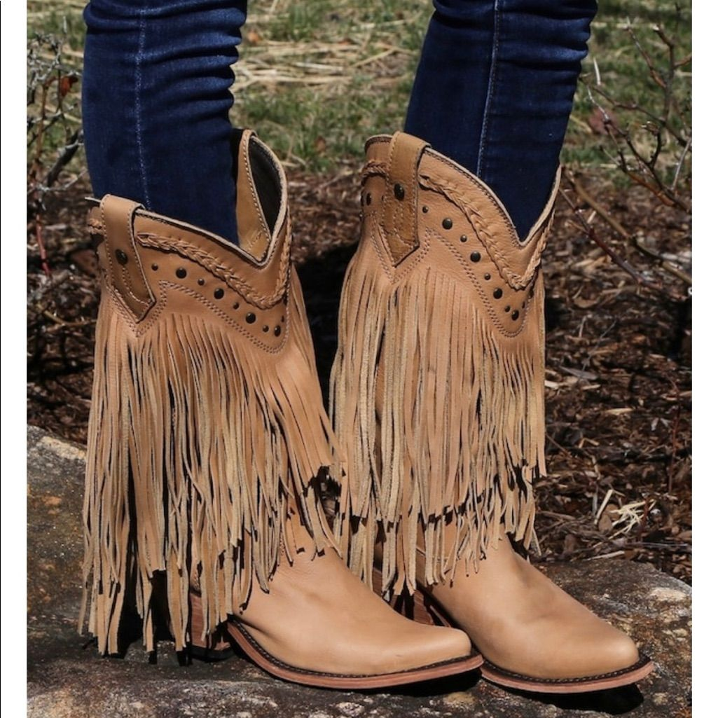 88a9ddb4961 Liberty Black Shoes | Liberty Black Rambler Fringe Cowboy Boots ...