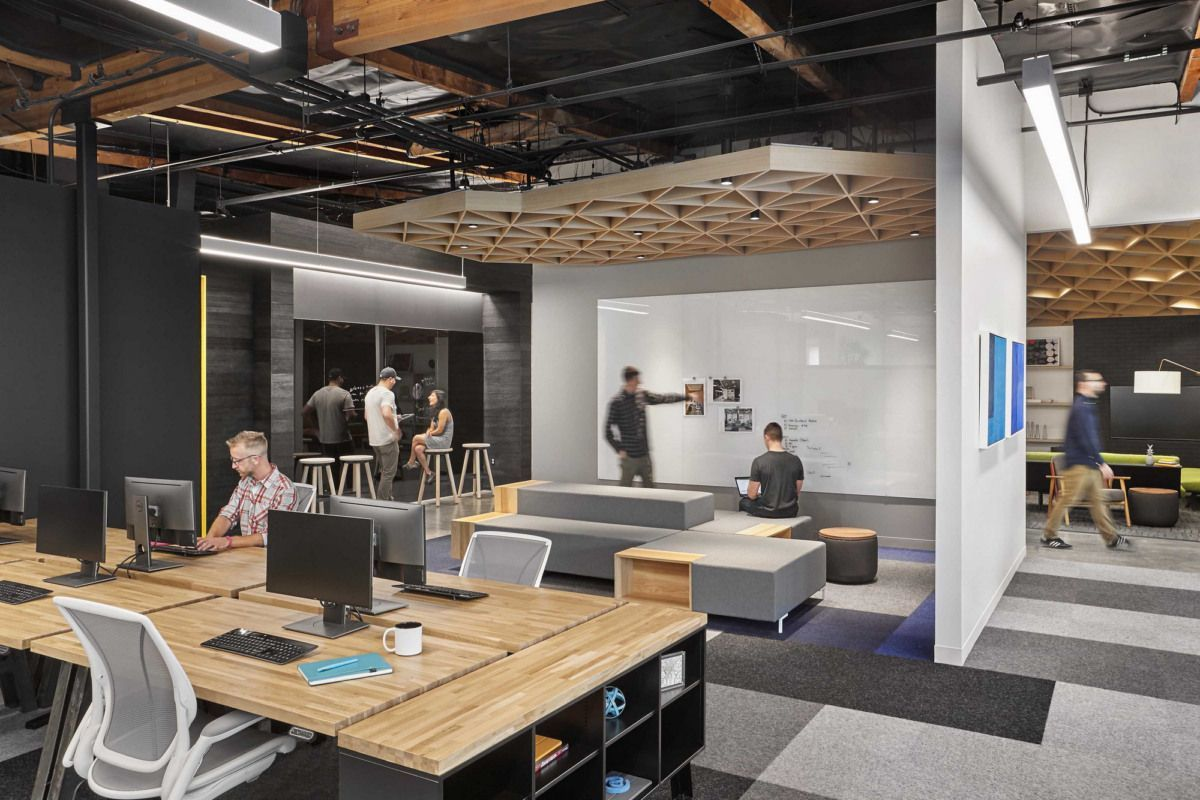 Office Tour Confidential Alternative Technology Company Offices Silicon Valley Alternat In 2020 Silicon Valley Office Office Design Grey Interior Doors