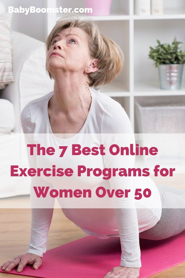 Best Online Exercise Programs for Women Over 50 Workout