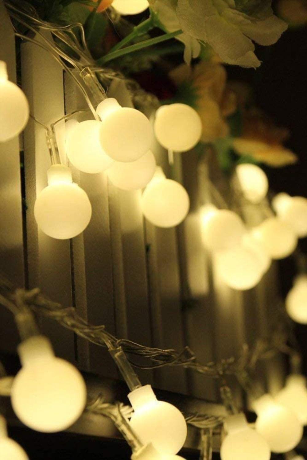 Gluhbirnen Lichterkette Led Gemutlich Garten Dekoration Wasserdicht Dekorieren Entspannte In 2020 Lichterkette Lampe Beton Fruhlingsdekoration