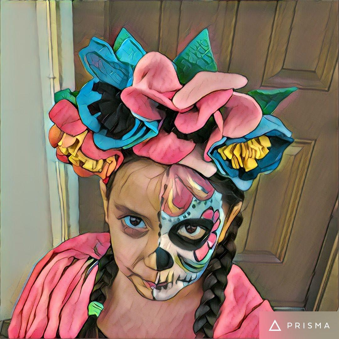 Frida head band by Pata's Design