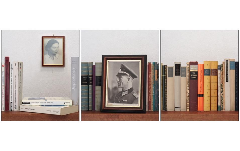Joachim Froese (2008), Archive. Archive depicts books and china left from the estate of my deceased German mother. After her death some of her possessions - amongst them many of the books I had photographed earlier in Germany - were packed up randomly in boxes and sent to Australia. While unpacking these boxes after their arrival I started to photograph their content again.
