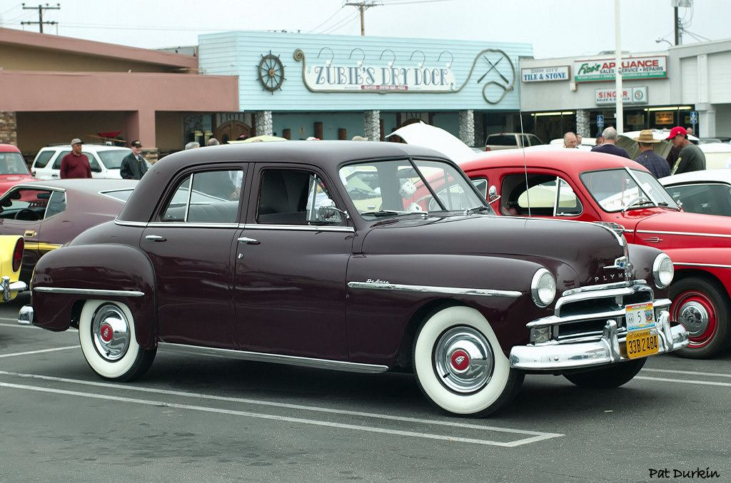 1950 plymouth deluxe 4 door sedan maroon fvr for 1950 plymouth 4 door sedan