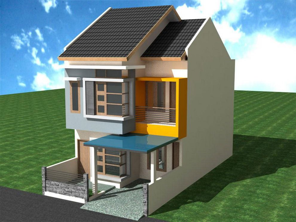 house - Simple House Design With Second Floor