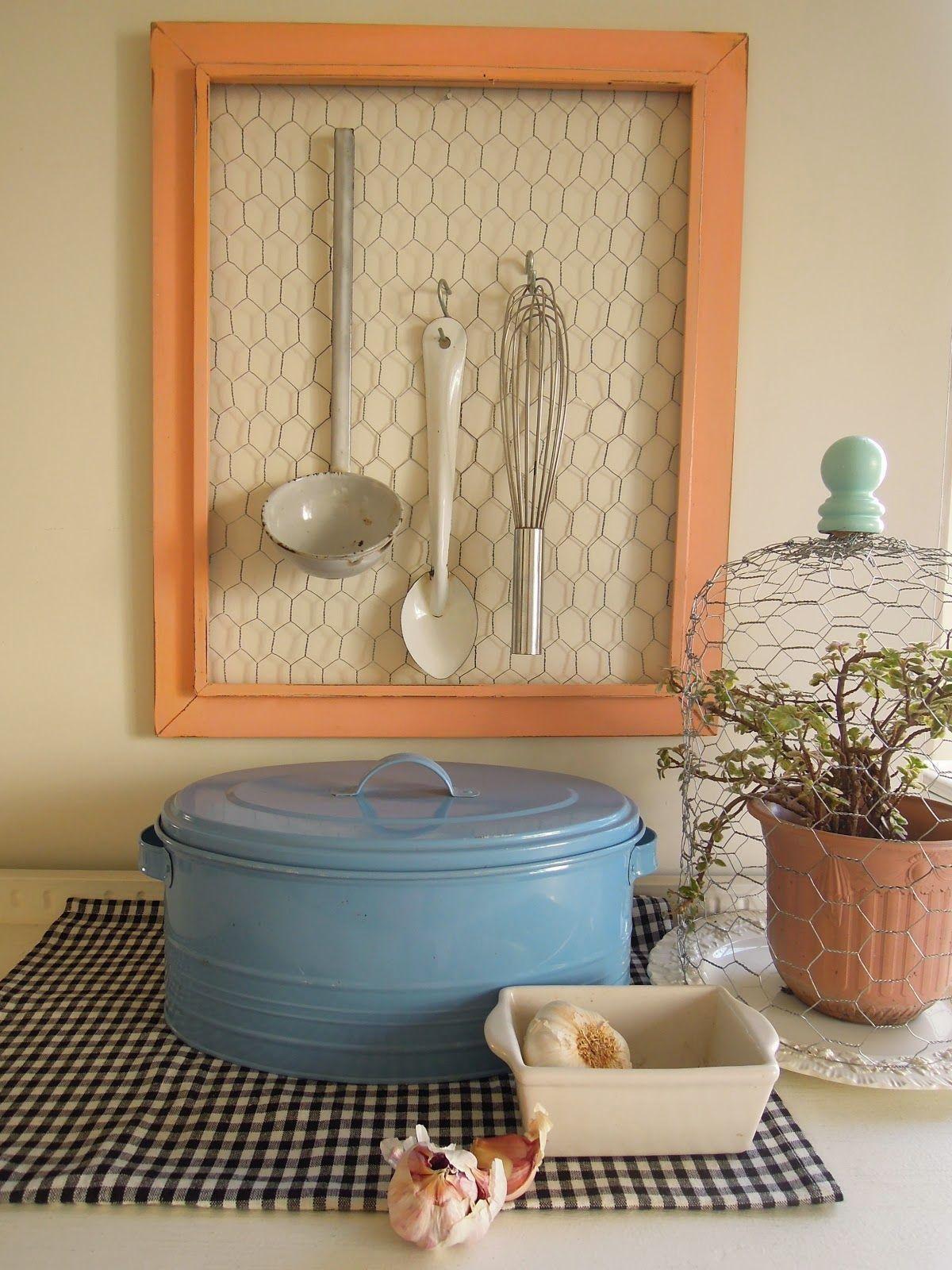 Ideas para la cocina un colgador para los utensilios for Colgador utensilios cocina