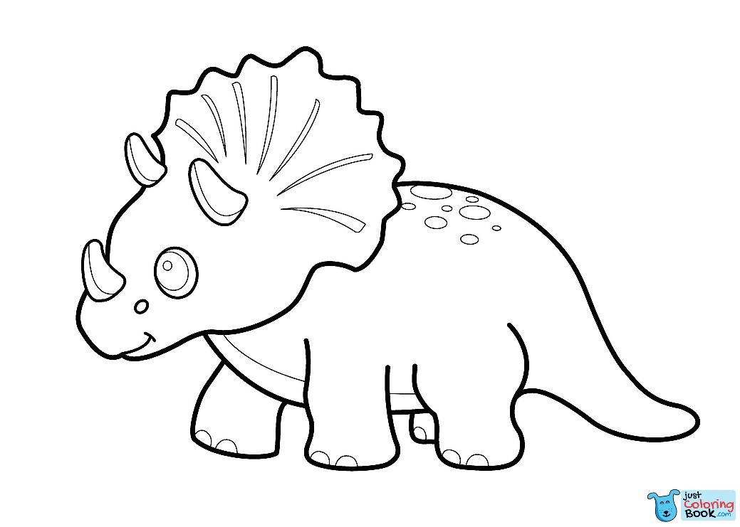 46+ Dinosaur clipart coloring pages ideas in 2021