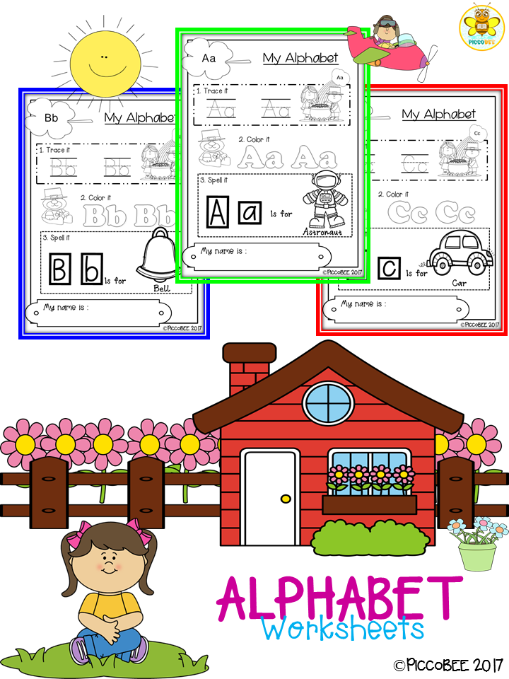 My Alphabetical Worksheets