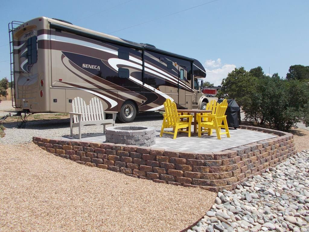Brand New Rv Patio Site At The Santa Fe Journey Koa Rv Campsite Santa Fe Rv Parks