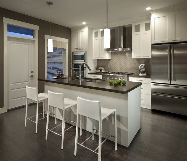 Modern Small Kitchen Design: Modern Kitchen Cabinets Design Trends 2016 Functional