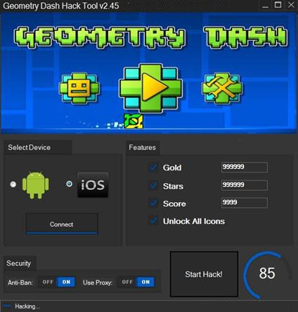 Geometry Dash Hack Cheats Mod Hacks Geometry Game Cheats Geometry Dash Lite