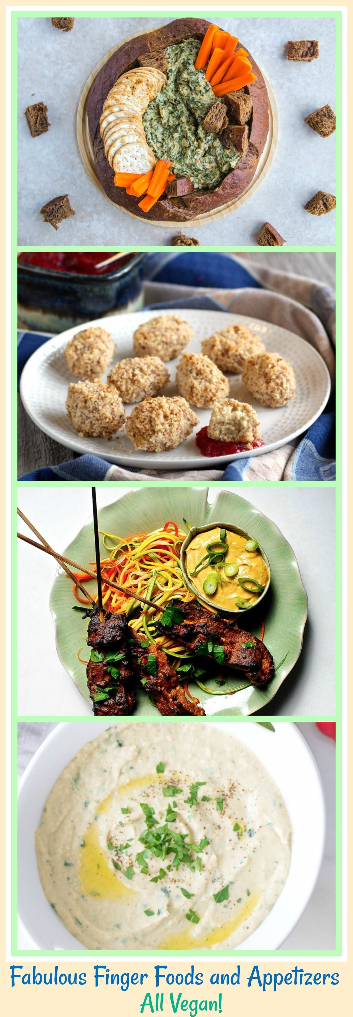 12 Fabulous Finger Foods and Appetizers All Vegan