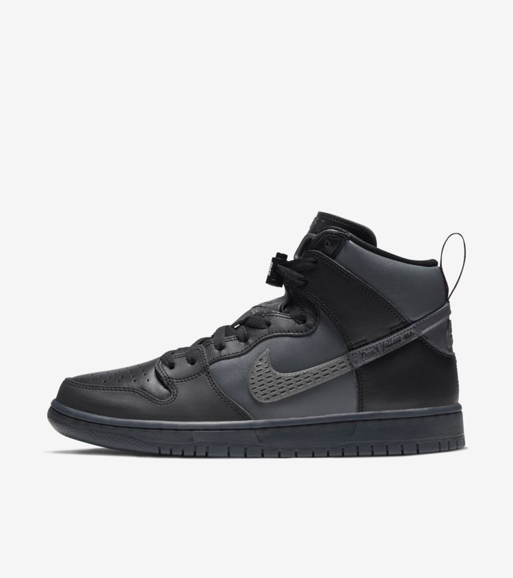 Sb dunk high pro latest sneakers all black sneakers