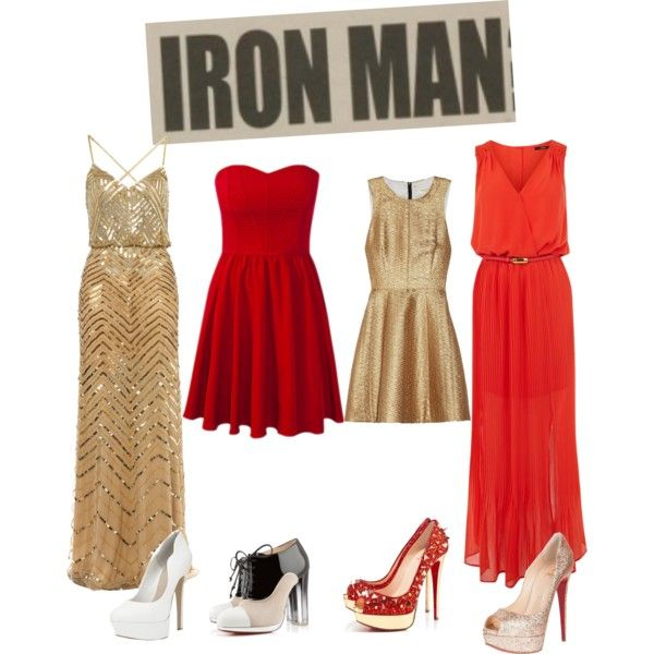 """I Am IronMan"" by qkate on Polyvore"