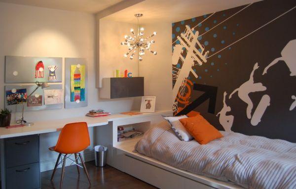 Elegant 29 Kidsu0027 Desk Design Ideas For A Contemporary And Colorful Study Space