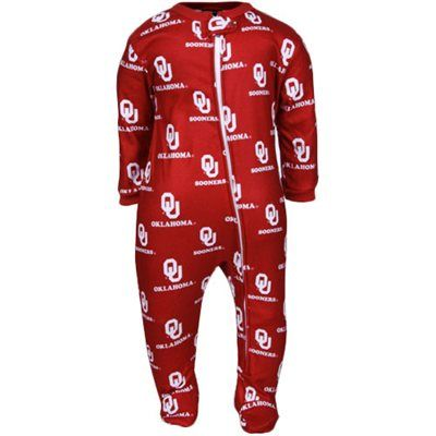 11f678404948 OU Sooners Infant Sleeper