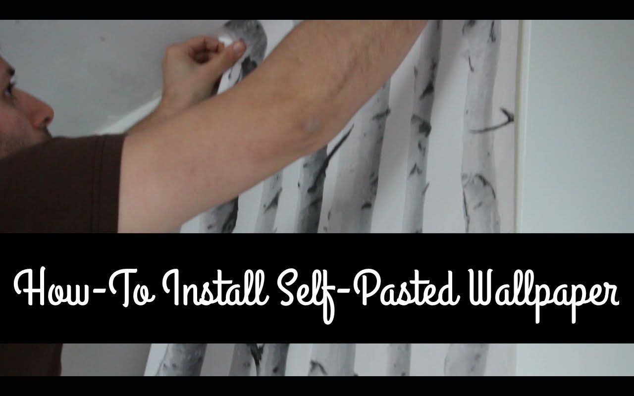 Youtube Prepasted Wallpaper Bouclair Home Wallpaper Over Wallpaper