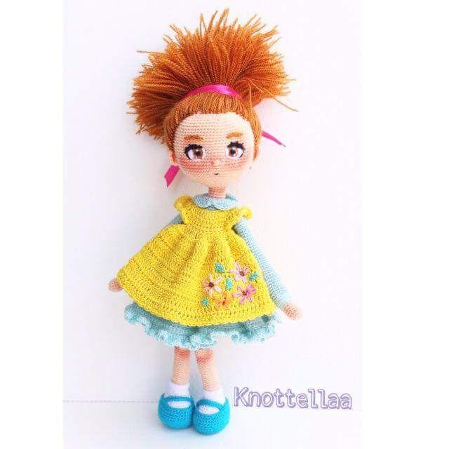 Pin de Kelli Mercer en crocheted dolls | Pinterest | Patrones ...