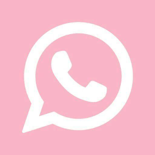 Whattsap Pink Icon Karya Seni 3d Ikon Aplikasi Gambar