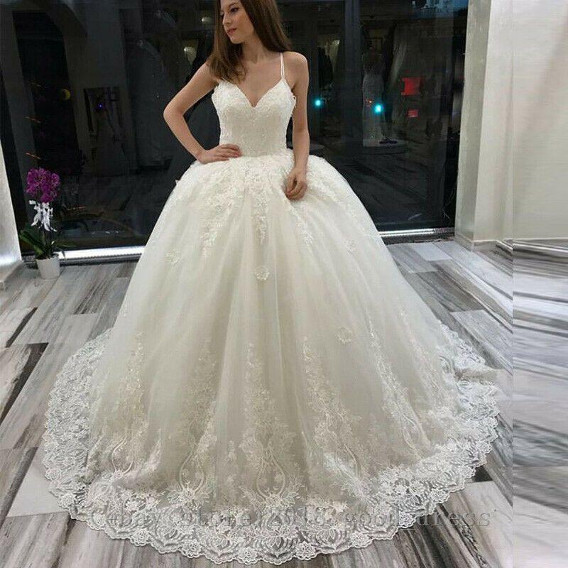 Plus2-26W Ball Gown Wedding Dress Elegant Formal Long Country Garden Bridal Gown  - Wedding Dress - Ideas of Wedding Dress