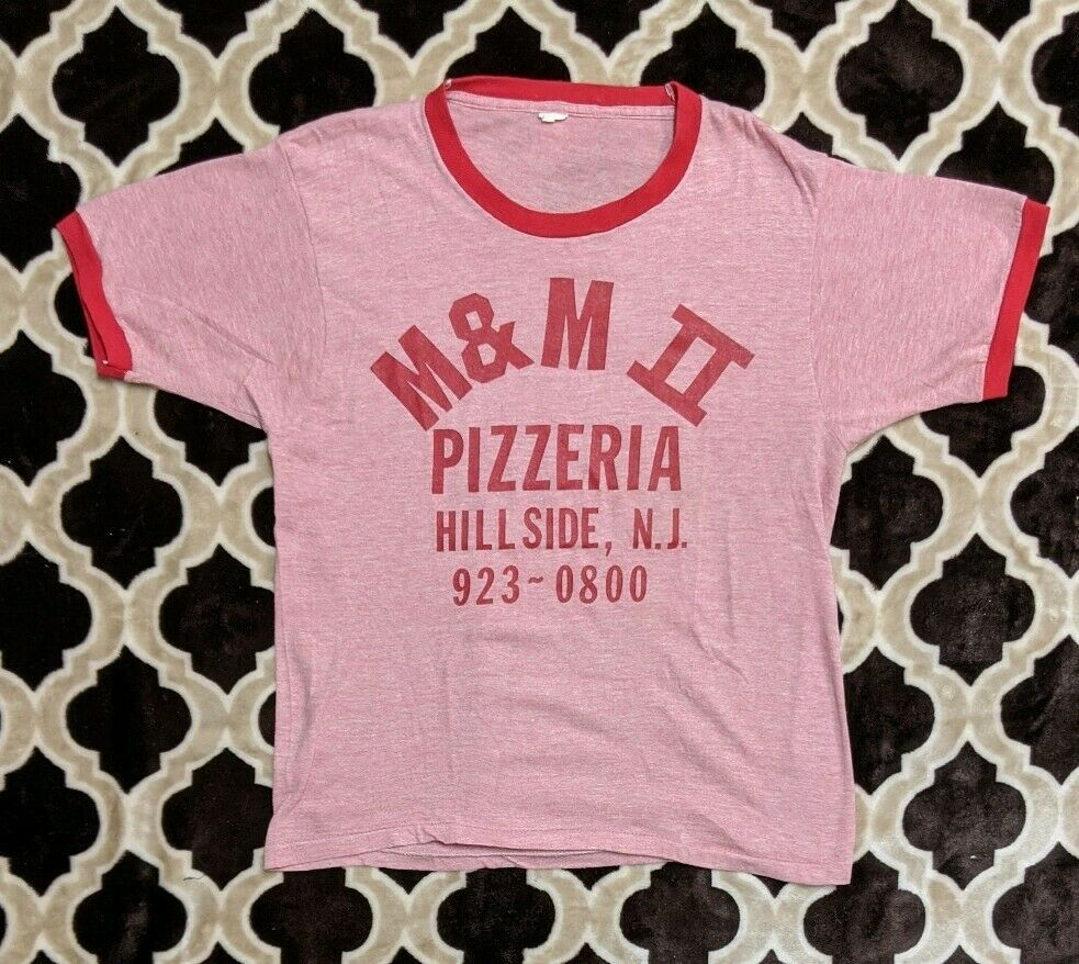 Vtg 80s Hillside New Jersey Pizzeria
