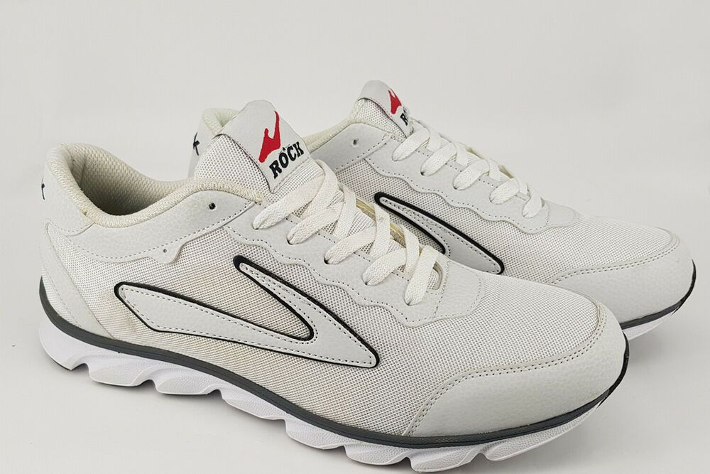 ab806ffc933 Mens Athletic Sneakers Sports Running Casual White Shoes Size 44 ERU ...