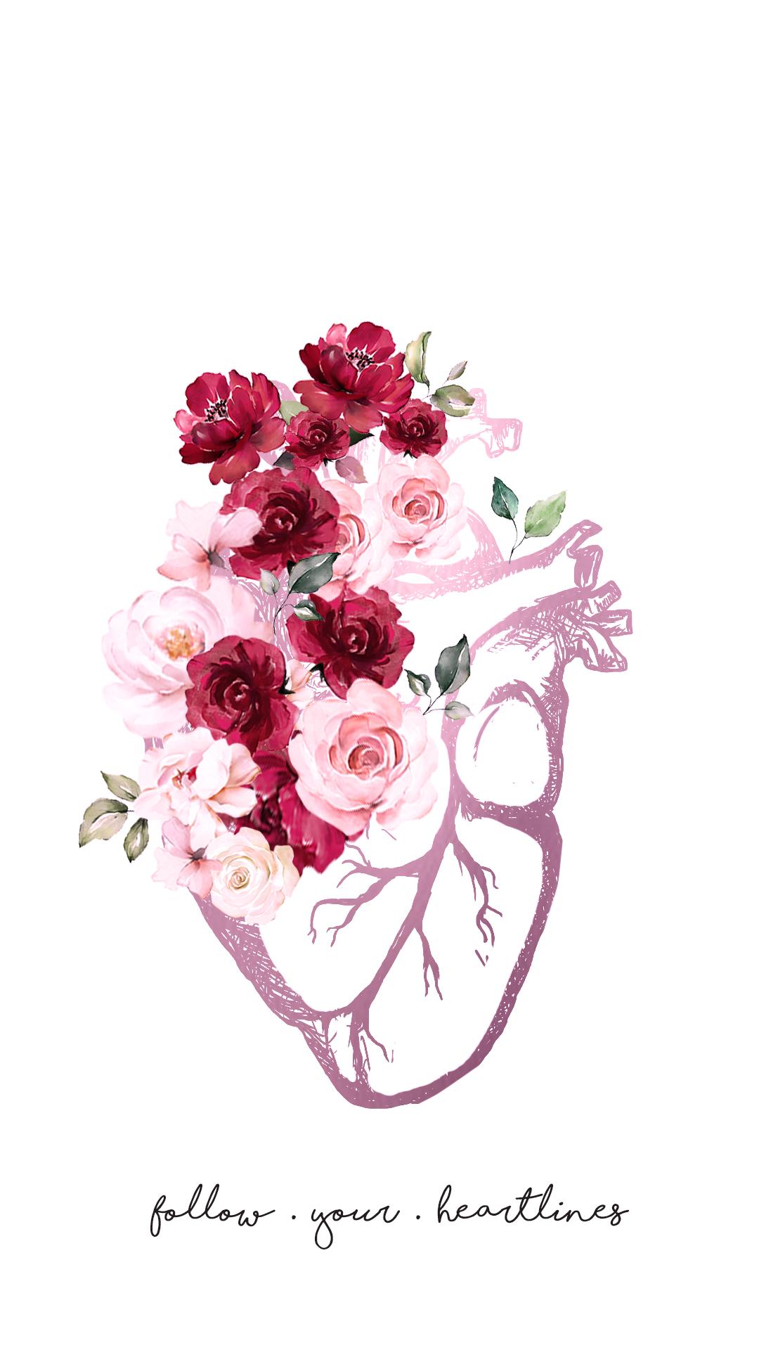 Wallpaper Coração de Flores 4 by Gocase, flowers, flores, rosas, vermelho, red, roses, pink, leaves, folhas, árvores, raízes, trees, roots, nature, follow your heartlines, follow your heart, coração, corações, amor, love, wallpaper, papel de parede, fundo de tela, background, gocase, lovegocase, #wallpaper, #lovegocase, #gocase, #coração, #flores, #rosas, #followyourheart, coração, amor, casal, #wallper, #love