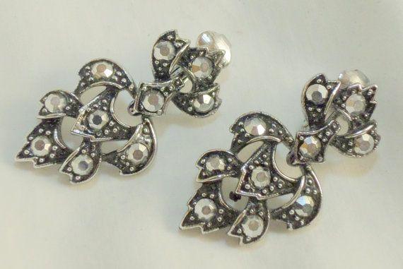 Emmons designer women's costume jewelry earrings by VignetteJewel, $8.50