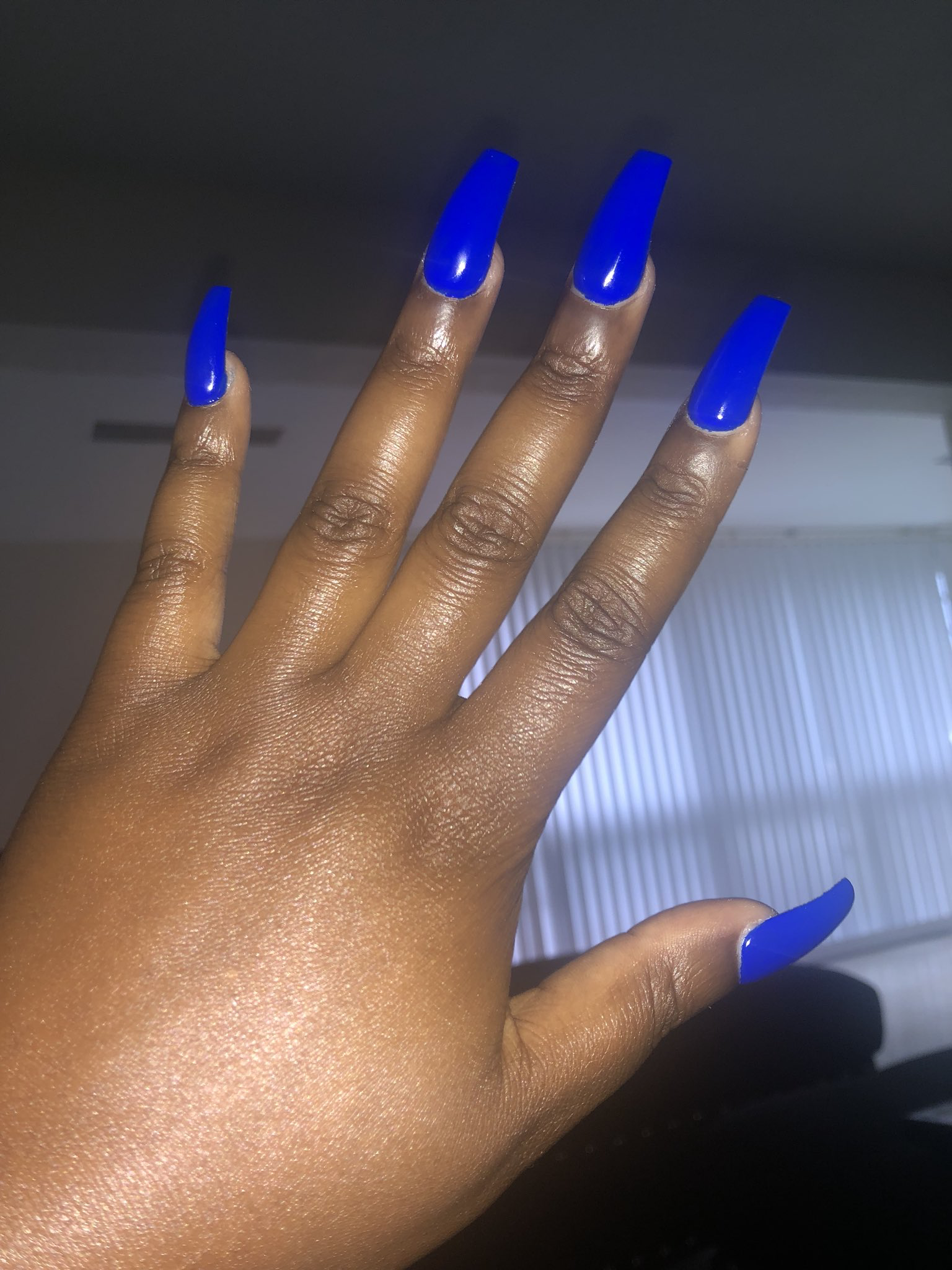 Check Out Simonelovee Blue Nails Manicure Nails