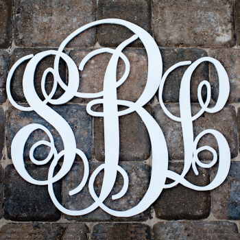 Reasonably Priced Monogram Wood Letters And Other