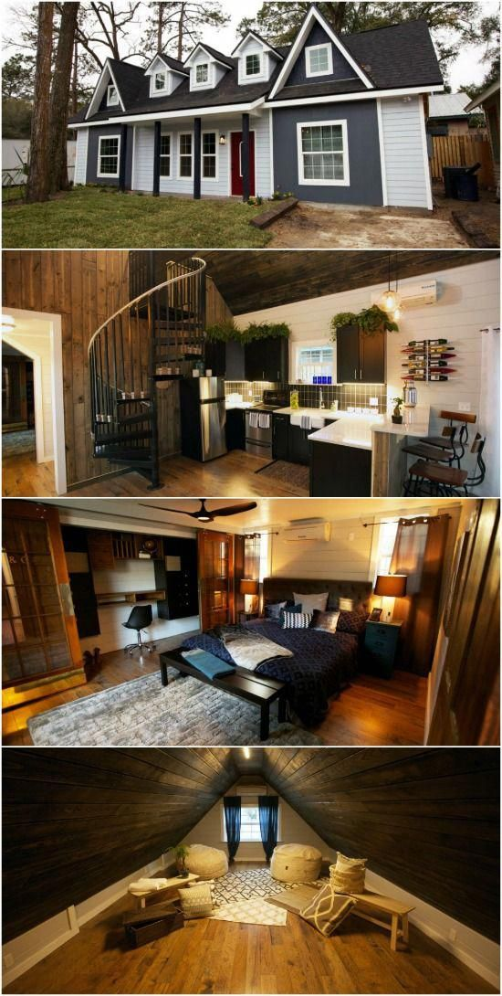 Busy Couple Design And Build Tiny Victorian House With