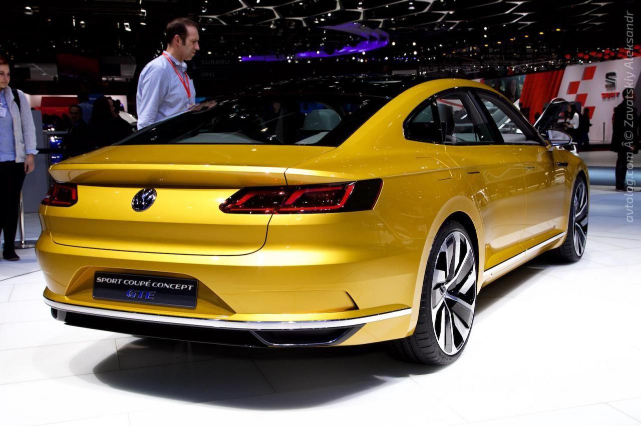 2015 Volkswagen Sport Coupe Concept GTE (Geneva