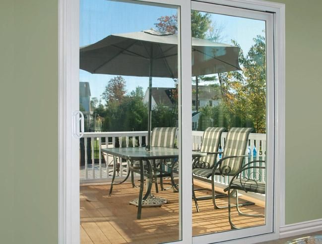 Norandex Extreme 960 Patio Door Offers Beauty And Security And Draft